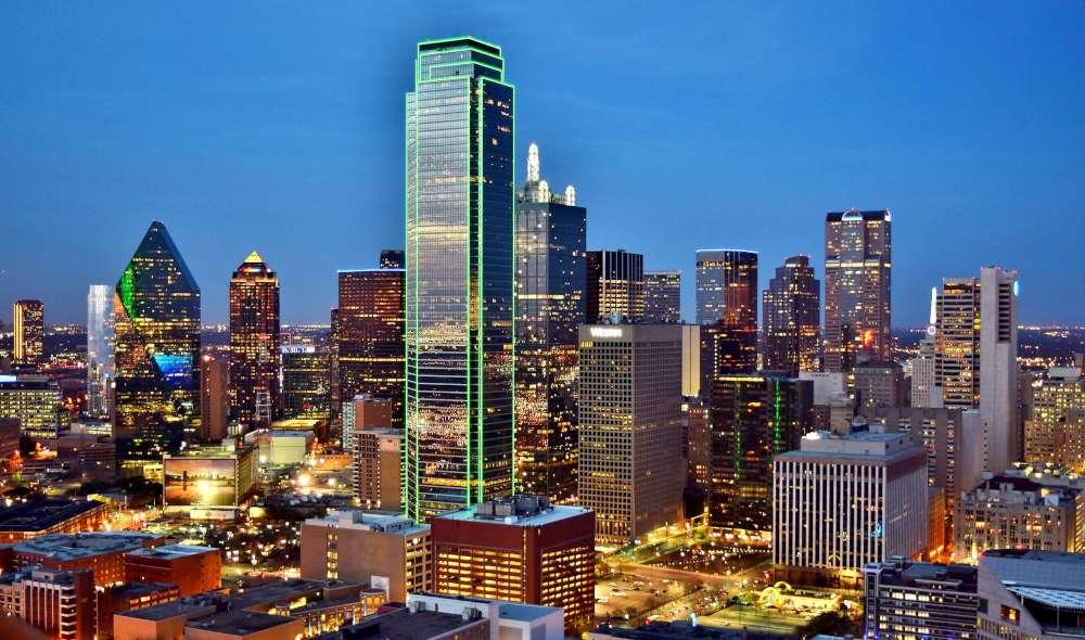 dallas city view