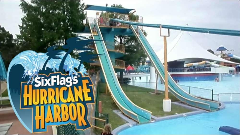 Six Flags Hurricane Harbour in Arlington
