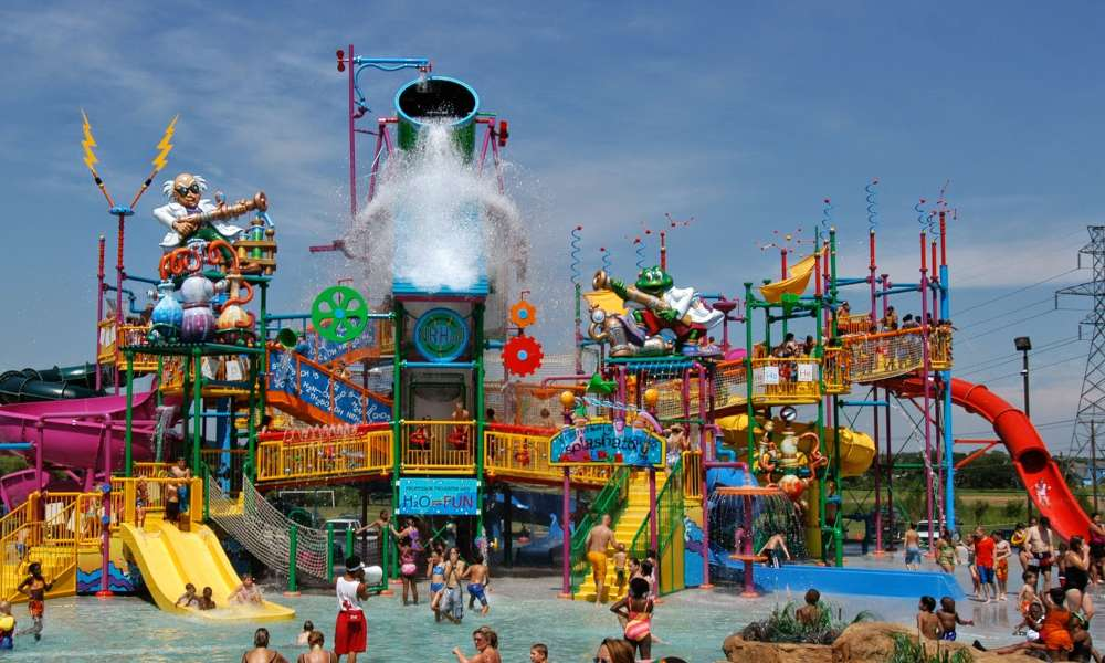 NRH20 Family Waterpark in North Richland Hills