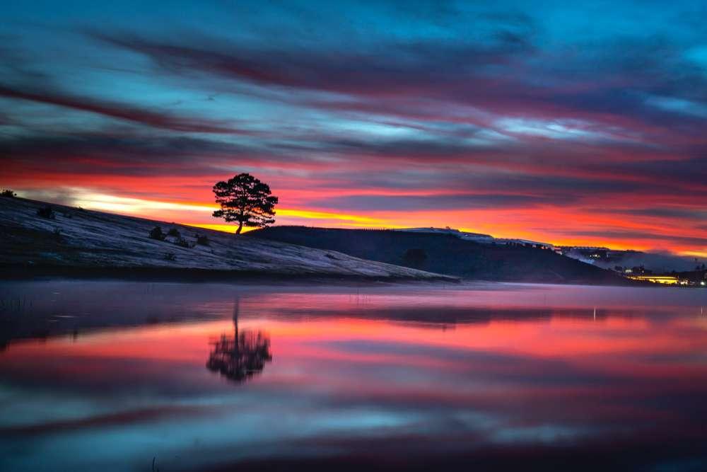 Tenaya Lake - biggest freshwater lake in California
