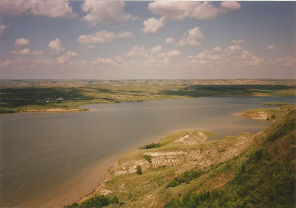 Lake Sakakawea - the second largest lake in the United States by area