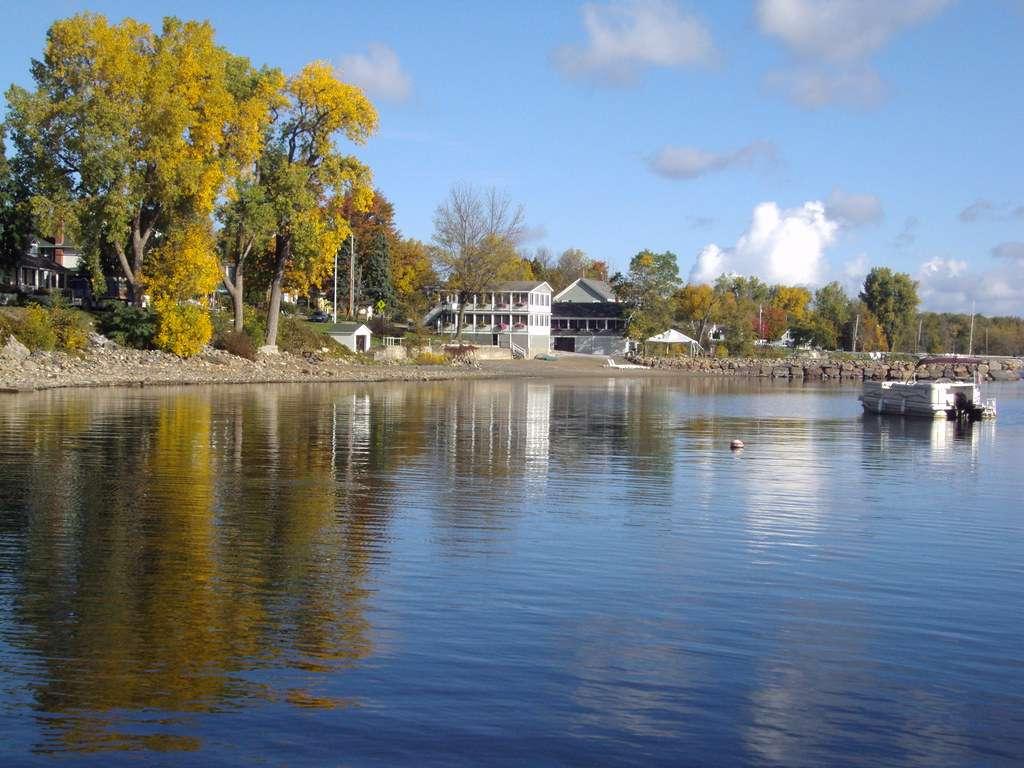 Lake Champlain - natural freshwater lake in North America