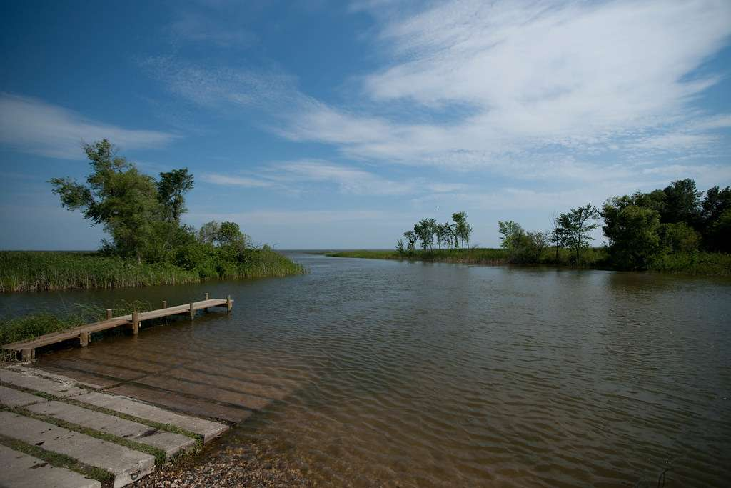 Red Lake - largest natural freshwater lake located entirely within Minnesota