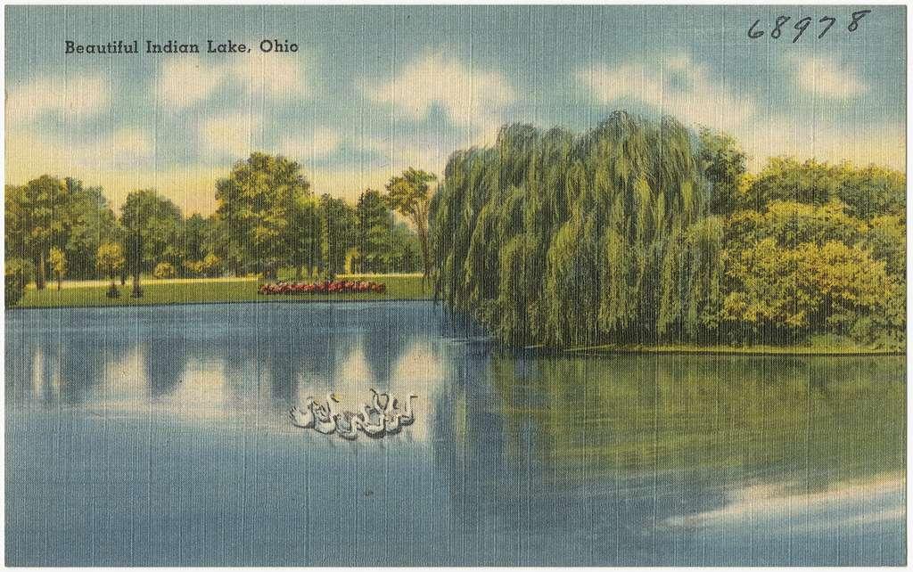 Indian Lake-Largest Lake that links to the Atlantic Ocean