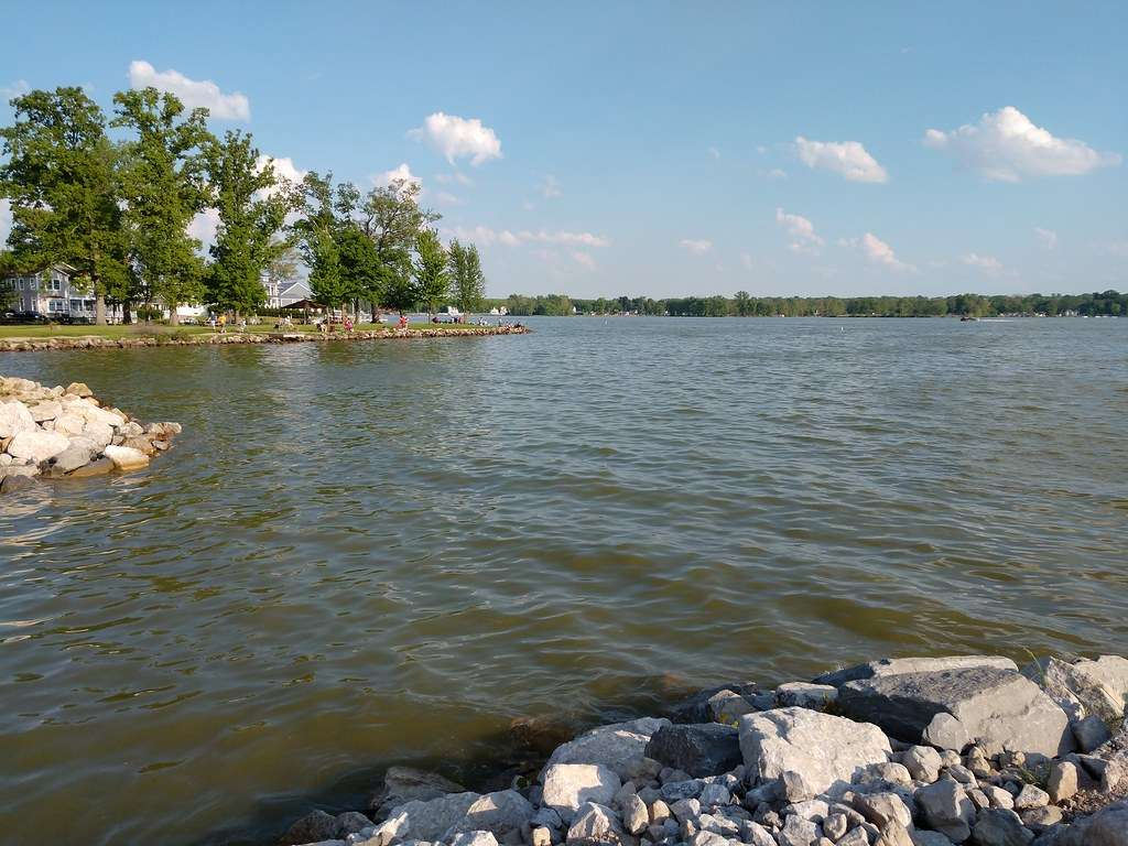 Buckeye Lake - Once used for canal transportation