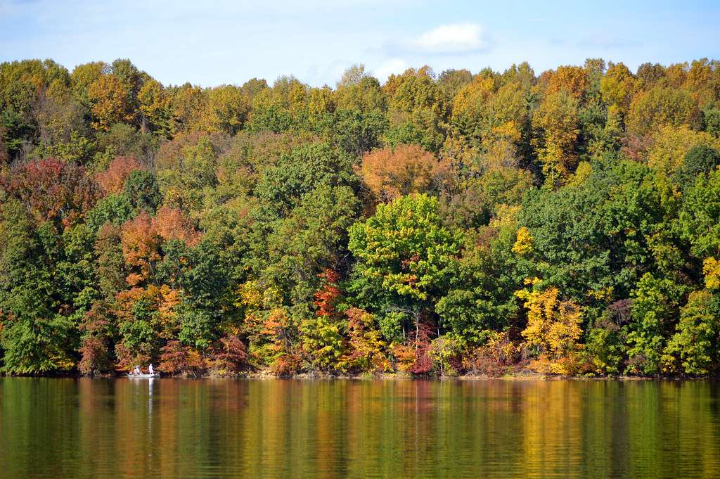 Clendening Lake - owned by the Muskingum Watershed Conservancy District