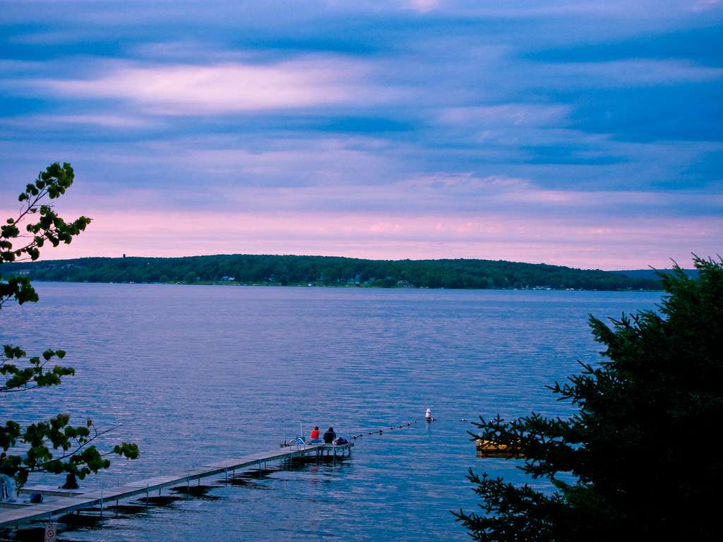 Chautauqua Lake - one of the highest navigable bodies of water in North America