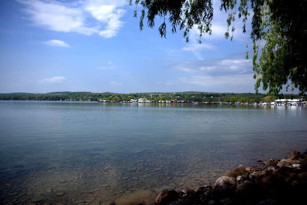 Canandaigua Lake - the fourth largest Finger Lake