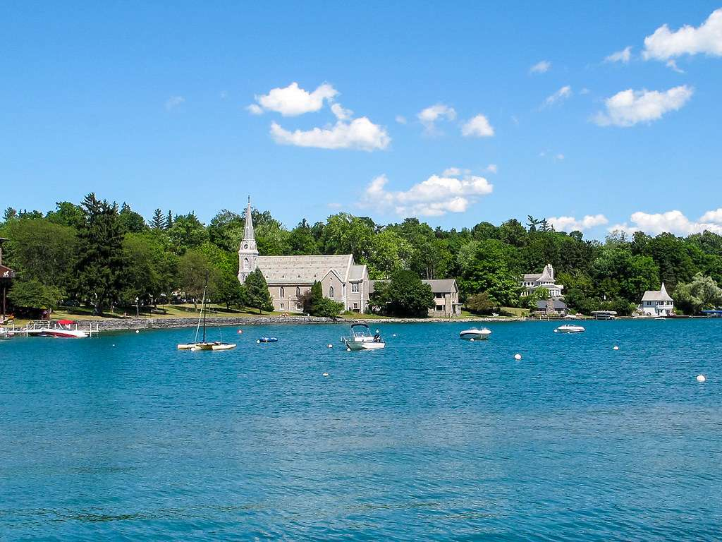 Skaneateles Lake - one of New York's famous Finger Lakes