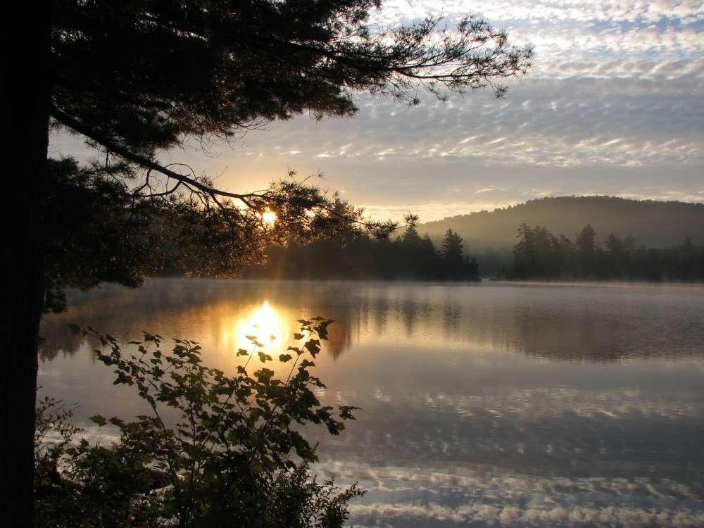 Cranberry Lake - the least developed lake