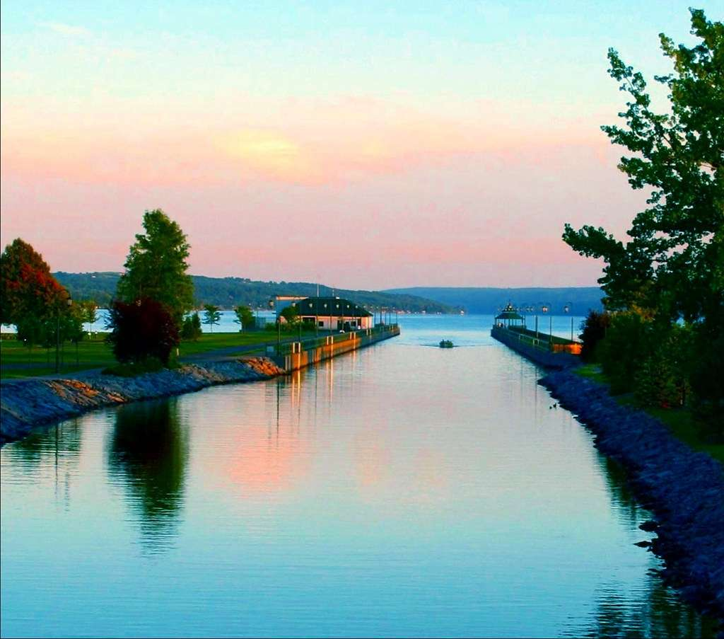 Owasco Lake - the sixth largest of the eleven Finger Lakes