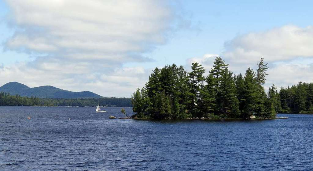 Raquette Lake - the largest natural lake in the Adirondacks