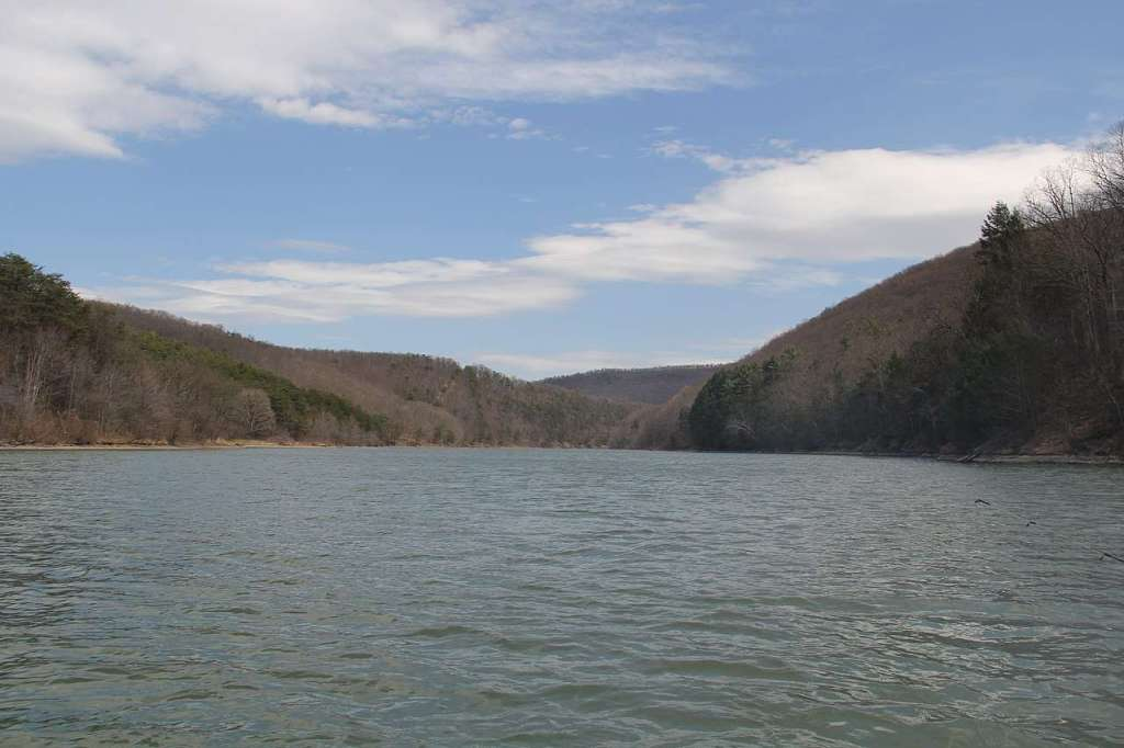 Raytown Lake – the largest man-made lake in Pennsylvania's