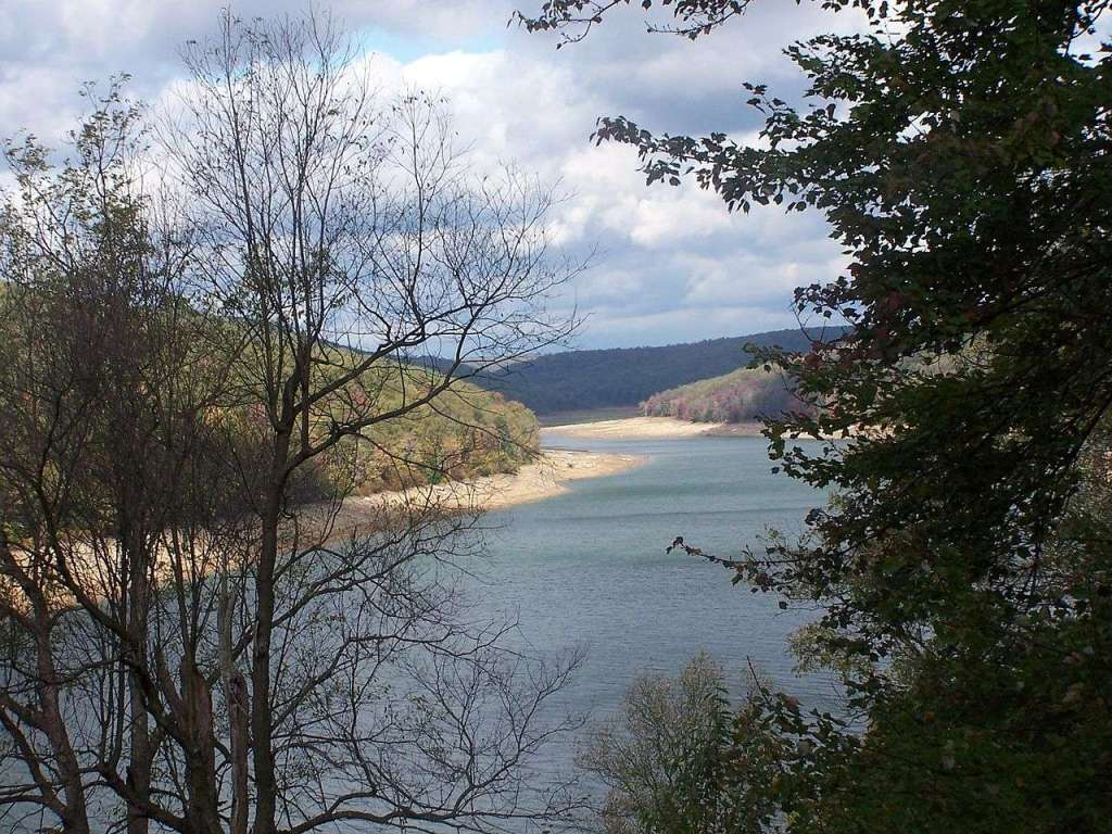 East Branch Clarion River Lake - created by the United States Army Corps