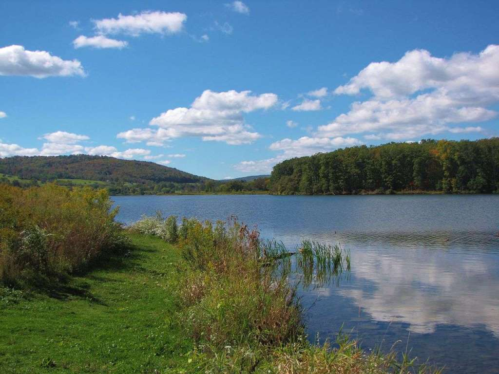 Cowanesque Lake - area around the lake is groomed for outdoor adventure