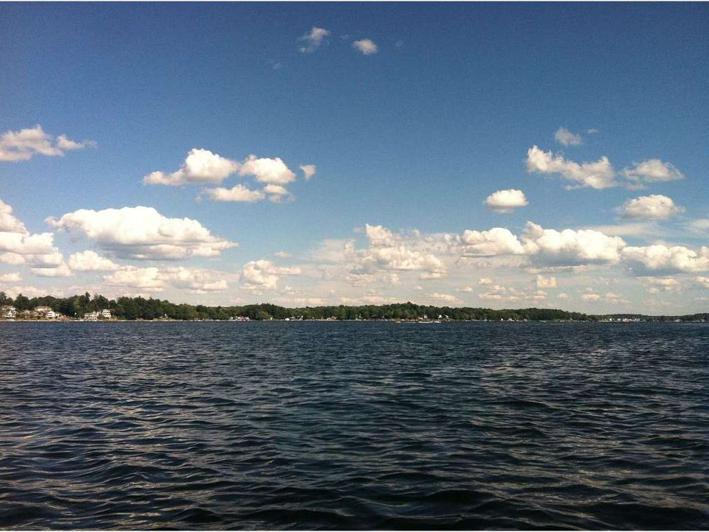 Conneaut Lake - the largest natural and deepest lake in Pennsylvania