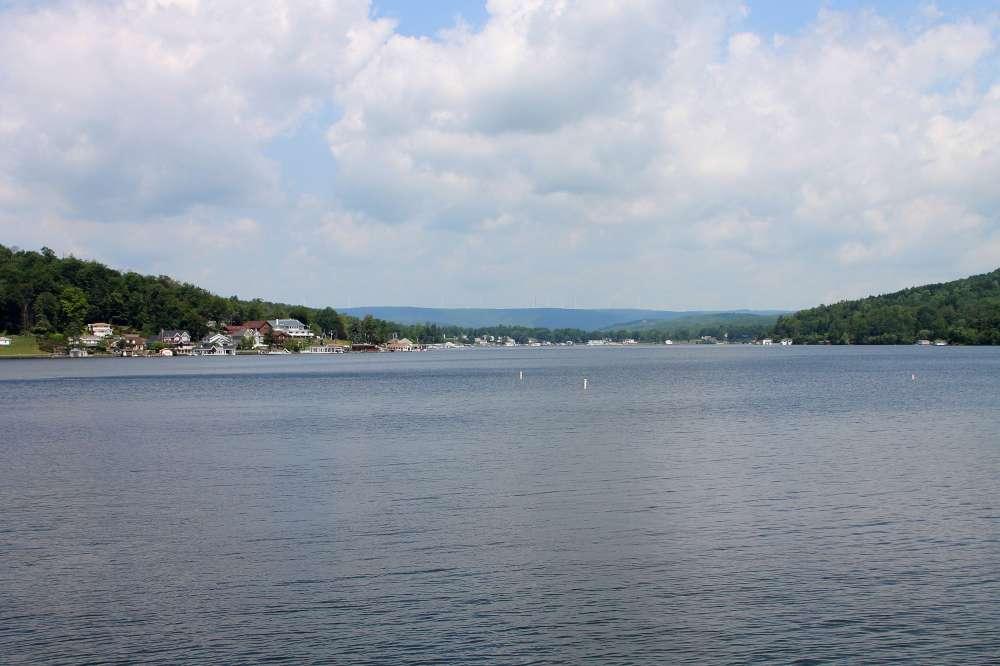 Harveys Lake - Pennsylvania's largest natural lake by total volume of water