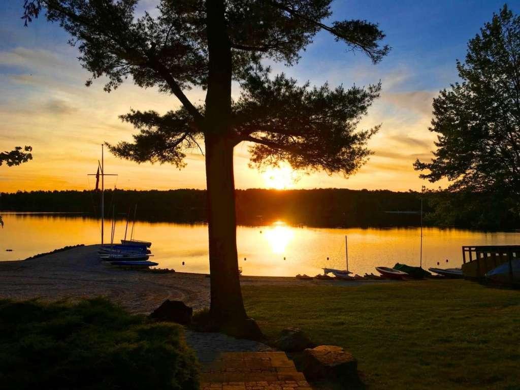 Pocono Lake - Built for logging in 1867
