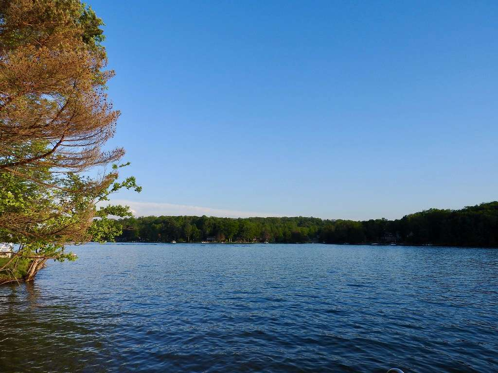 Treasure Lake - lake with a private residential community