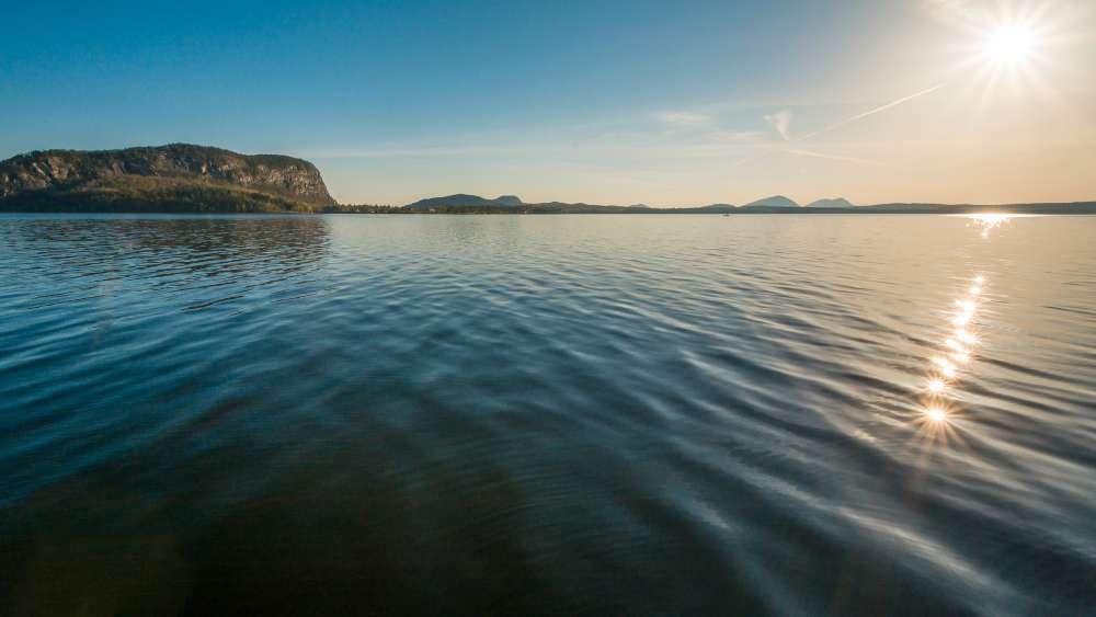 Moosehead Lake - is a deep, Coldwater Lake