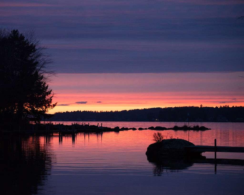 Lake Winnipesaukee - The lake contains 264 islands