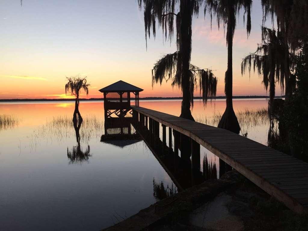 Cypress Lake – 2nd largest lake in Florida