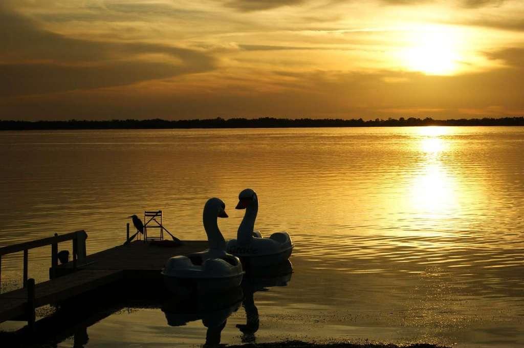 Lake Dora - the biggest southern lake in Florida