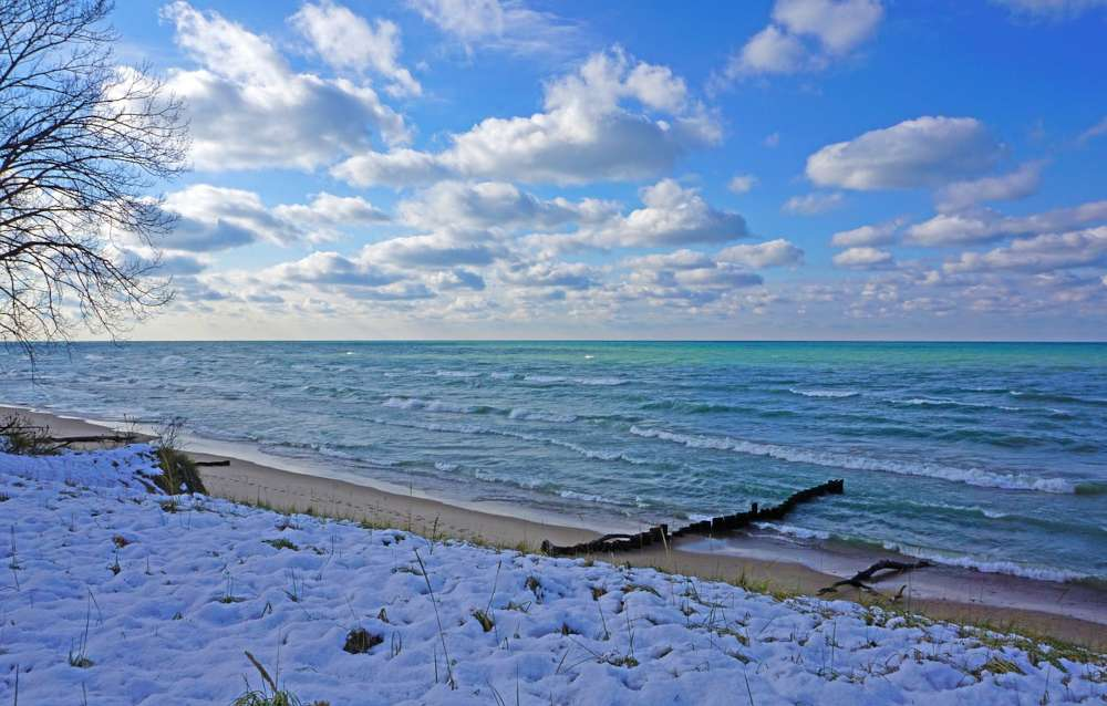Lake Michigan - the second-largest of the Great Lakes by volume