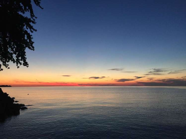 Lake Ontario - is one of the five Great Lakes of North America