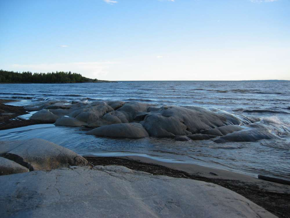 Lake Superior - it is the world's largest by surface area