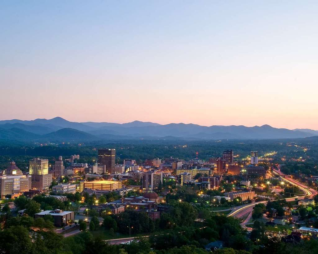 Can you find any good kid-friendly restaurants in Asheville?