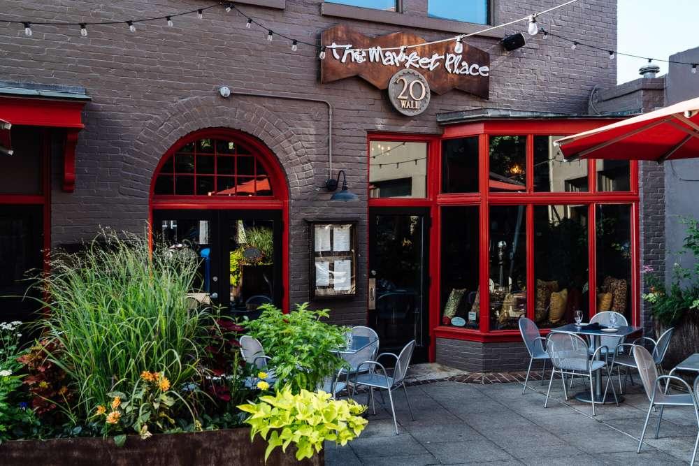 Asheville's Market Place restaurant